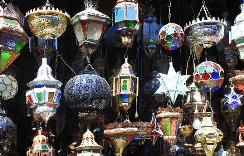 Souks de Marrakech - Lanternes