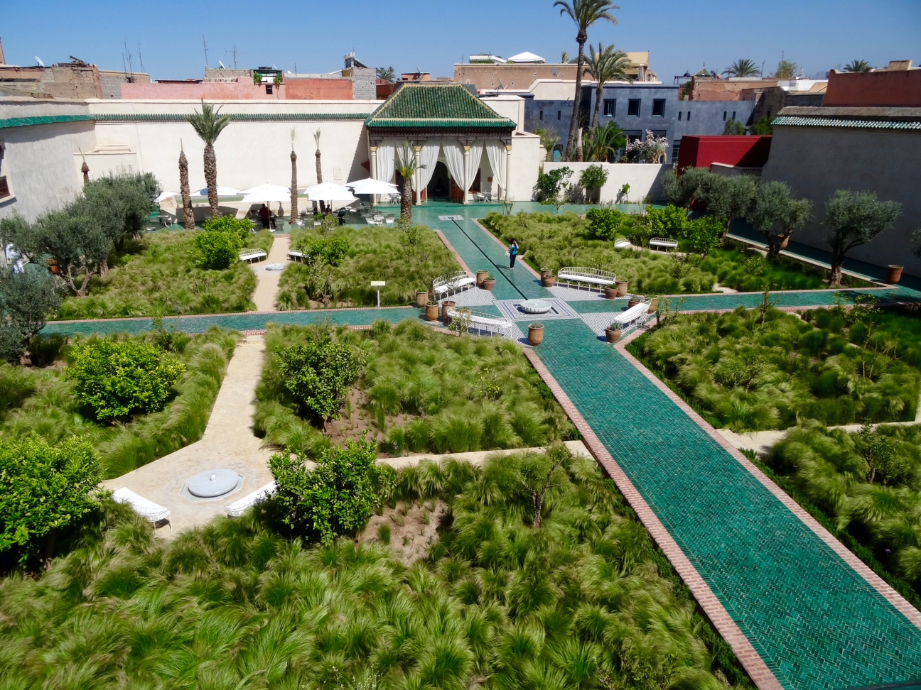 Jardin secret marrakech for Jardin secret des hansen