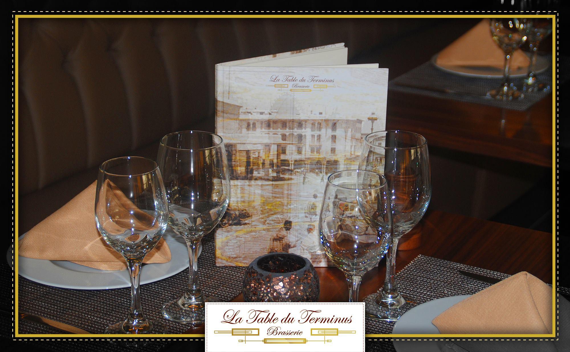 Restaurant table du terminus rabat for La table du 9