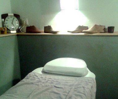 Massages à l'huile d'argan
