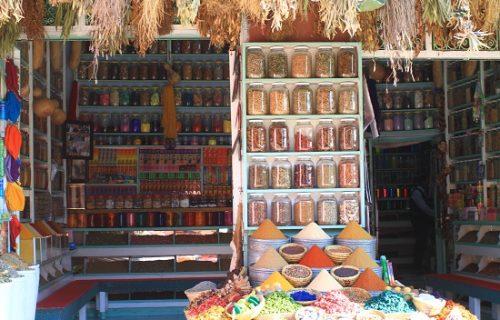 Souks de Marrakech - Herboriste,  pharmacie traditionnelle