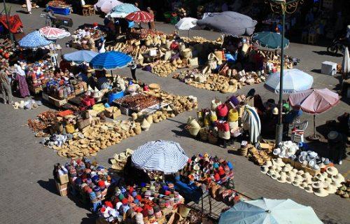 Souks de Marrakech - Place des épices