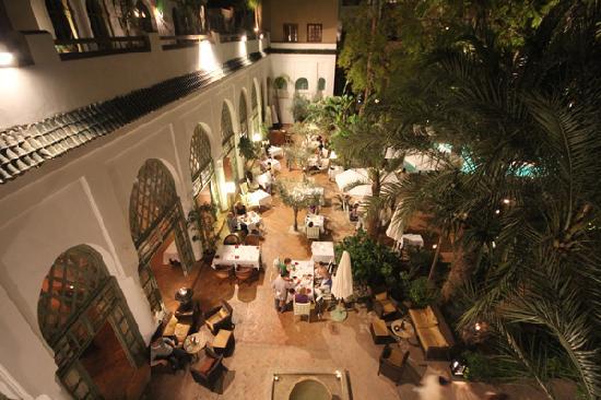 restaurant les jardins de la m dina marrakech
