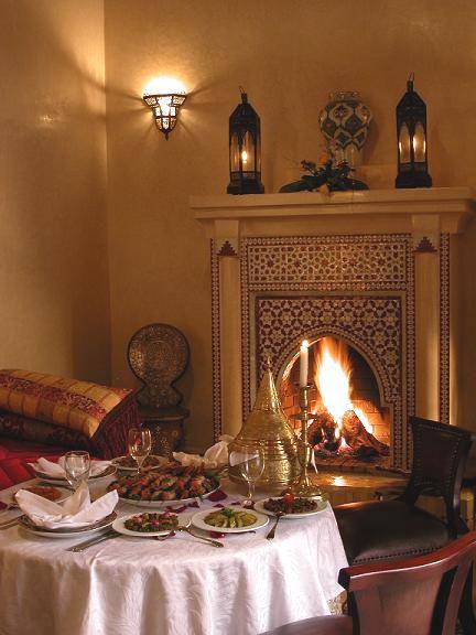 restaurant riad kniza marrakech. Black Bedroom Furniture Sets. Home Design Ideas
