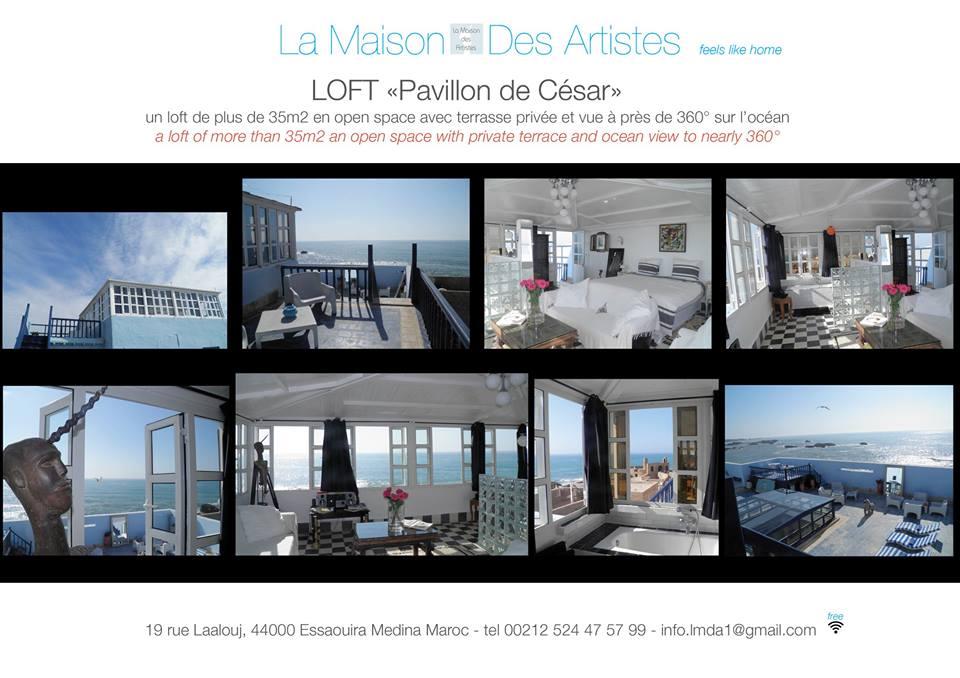 Maison d hotes la maison des artistes essaouira for Agessa ou maison des artistes