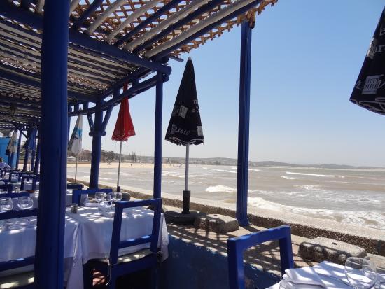 restaurant chalet de la plage essaouira