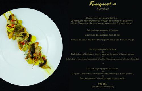 restaurant Fouquet's marrakech7