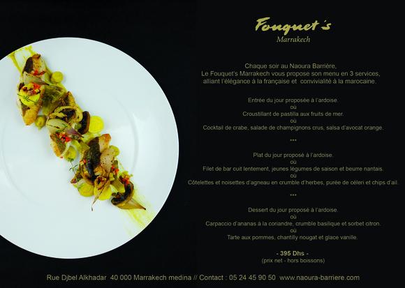Restaurant Le Fouquet U2019s Marrakech