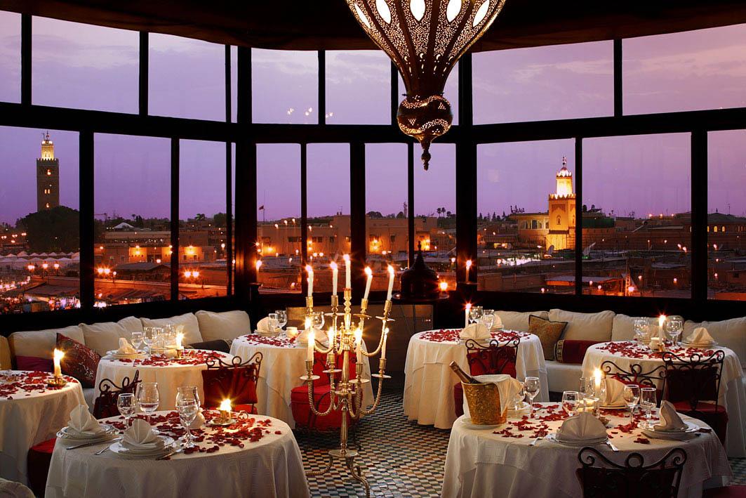restaurant le marrakchi marrakech. Black Bedroom Furniture Sets. Home Design Ideas