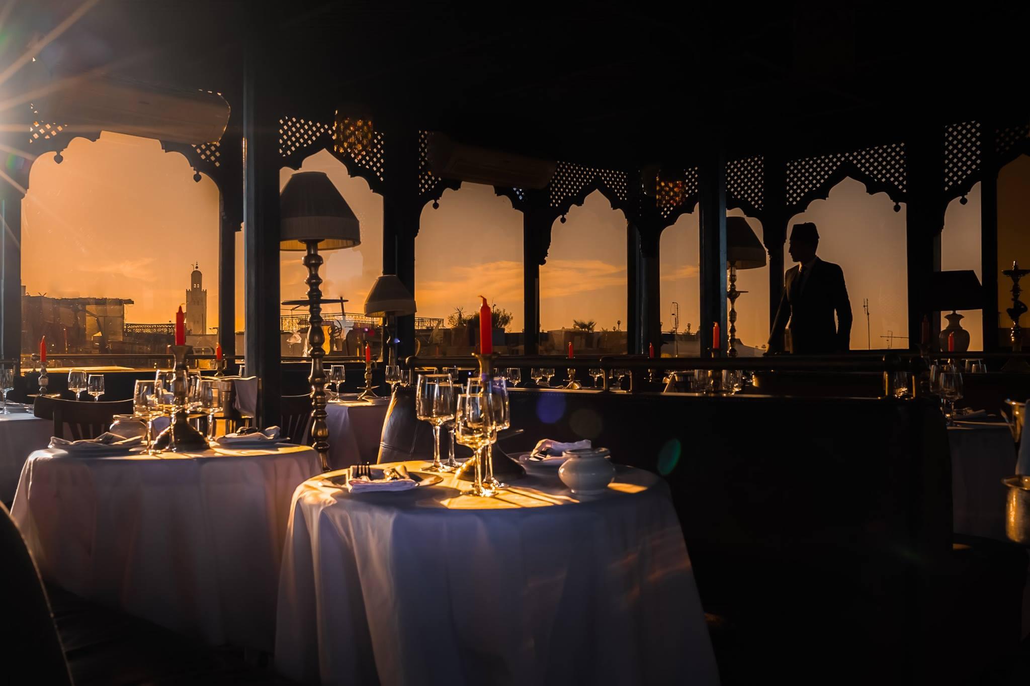 restaurant salama marrakech. Black Bedroom Furniture Sets. Home Design Ideas