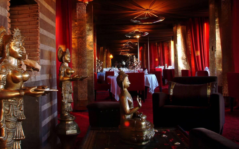 restaurant les jardins de bala marrakech. Black Bedroom Furniture Sets. Home Design Ideas